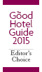 Good Hotel Guide Editor's Choice Award Logo - Walking hotels